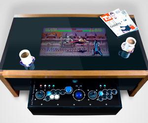 Arcade Coffee Table.Arcade Machine Coffee Table