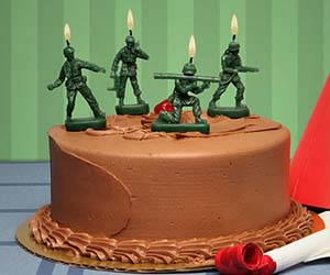 Men candles army men candles sciox Image collections