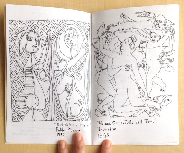 Art History Coloring Book