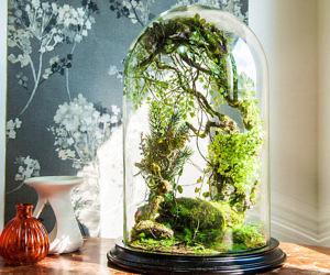 Artificial Plants Forest Terrarium