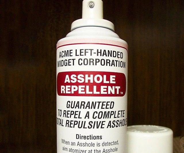 Asshole Repellent