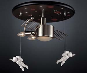 Luxury Astronaut Chandelier