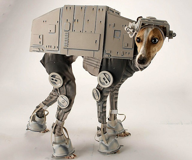 Star Wars At At Dog Costume