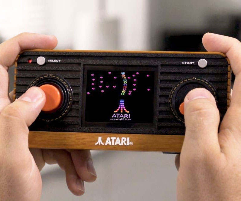 Atari Retro Handheld Console - coolthings.us
