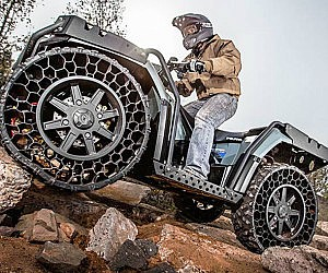 Airless Tires ATV
