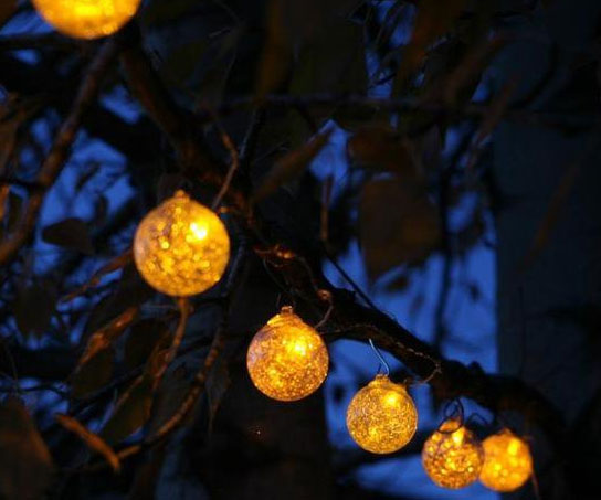 solar powered string lights - 100 images - solar powered 100 led string lights amir, inngree ...