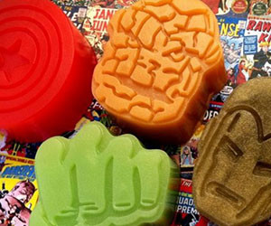 Marvel Superhero Soap