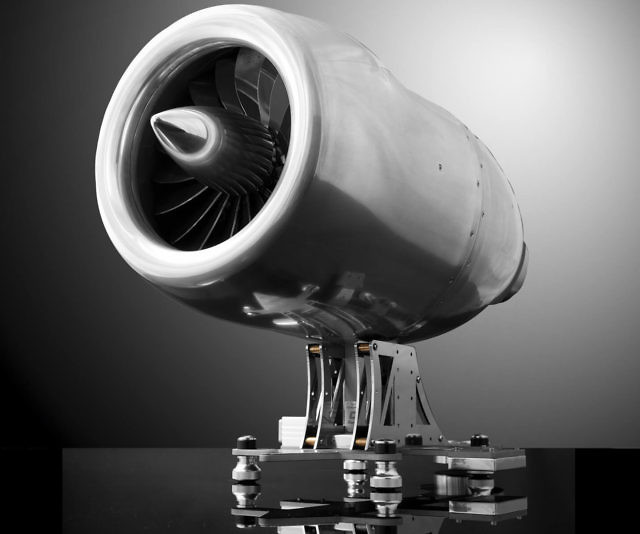 Jet Engine Styled Coffee Maker