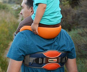 Baby Saddle Shoulder Strap System