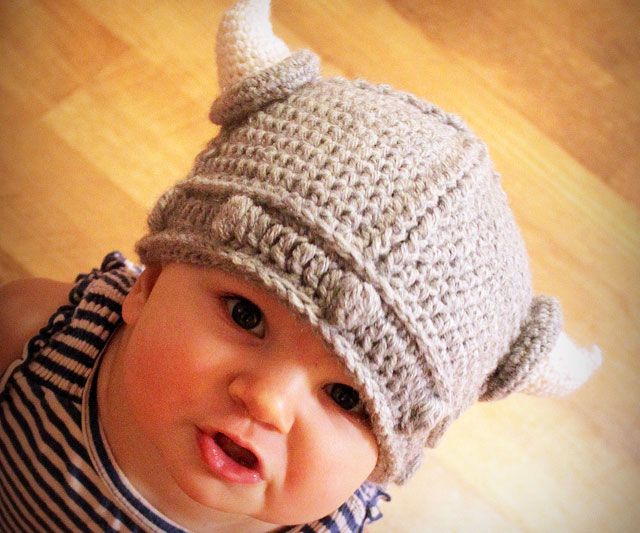 6cf244228b3 Baby Viking Hat