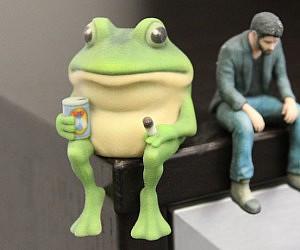 3D Printed Bachelor Frog