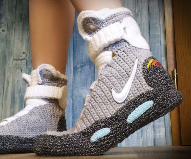 To The Future Knitted Slippers