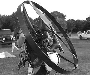 Backpack Paramotor Aircraft
