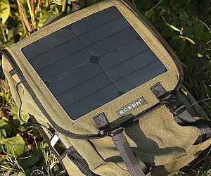 Solar Panel Charger Backpack