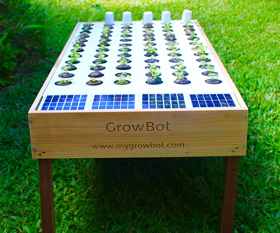 Solar Powered Hydroponic Grow Bo