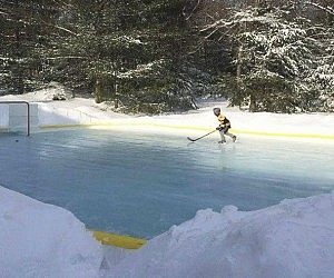 Backyard Ice Rink Kit