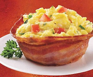 Bacon Bowl Mold
