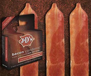 Bacon Condoms
