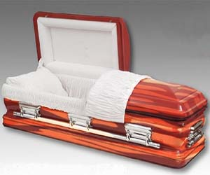 Bacon Funeral Coffin