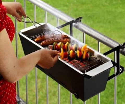 Balcony Barbecue Grill