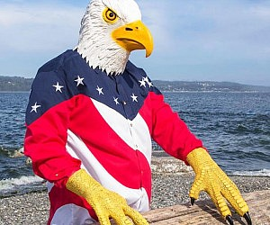 Bald Eagle Mask And Talons