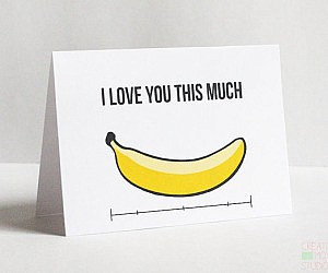 Banana For Scale Card