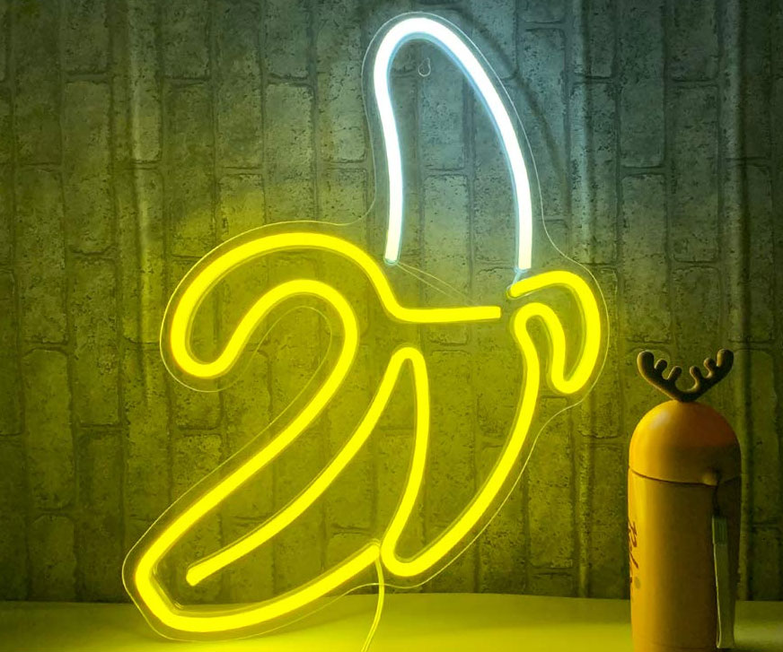 Banana Neon Sign