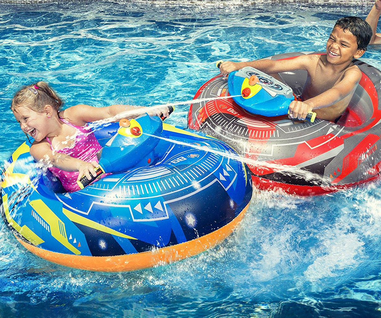 Motorized Water Blaster Bumper Boats