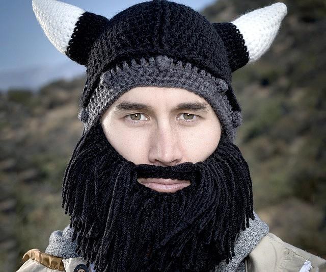 3def358a Barbarian Beard Beanies