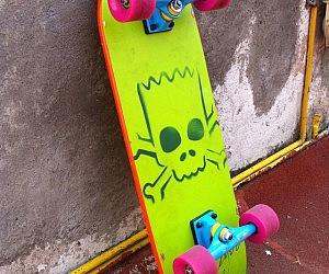 Led Skateboard Deck