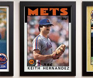 Vintage Baseball Card Posters