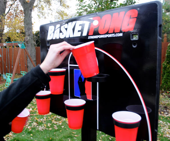 Basketball Beer Pong