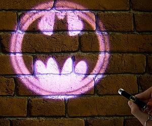 Bat Signal Projector Pen