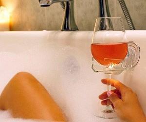 Bath Wine Glass Holder