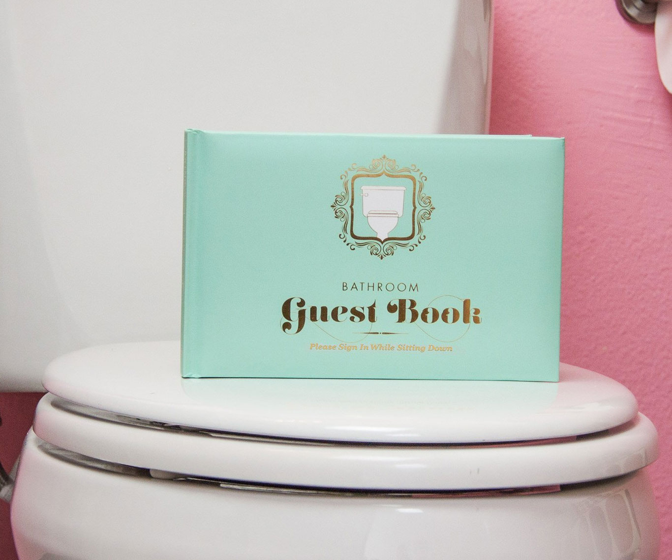 The Bathroom Guest Book - coolthings.us