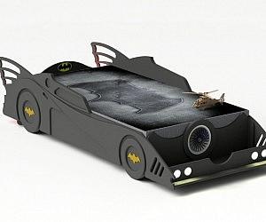Unique DIY Batmobile Bed