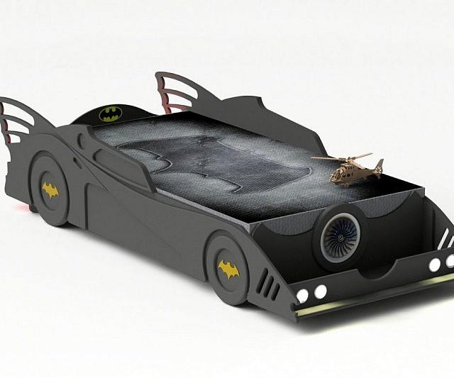 Pin bed car batman comic bigland on pinterest