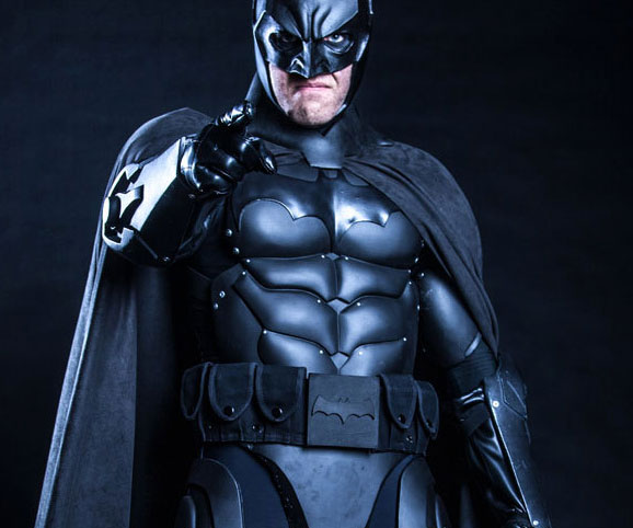 how to make a real batman suit
