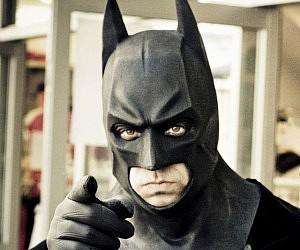 Dark Knight Batman Mask & Batman Dark Knight Costume