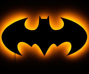Batman Sign Light