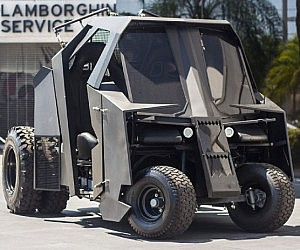 Dark Knight Tumbler Golf Cart
