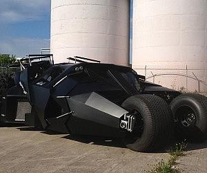 Spectacular Street Legal Batman Tumbler