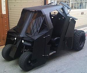 Popular Batman Tumbler Golf Cart