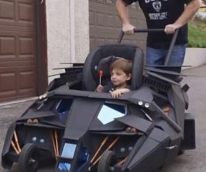 Tumbler Batmobile Stroller