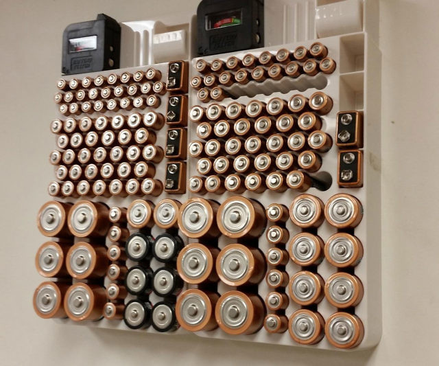 Battery organizer solutioingenieria Images