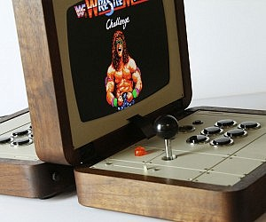 Two Player Briefcase Arcade Machine