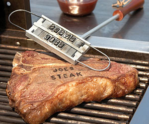 Personalized BBQ Branding Iron