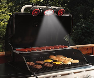 Barbeque Grill Light & Fan
