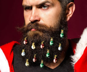Beard Christmas Ornaments