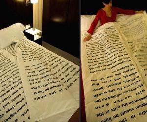 Bedtime Story Blanket